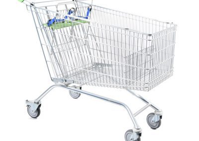 213Ltr Twin Toddler Shopping Trolley