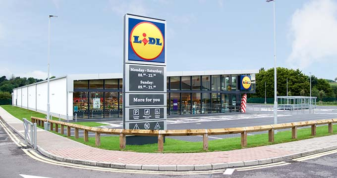 Shopping trolley systems for Lidl